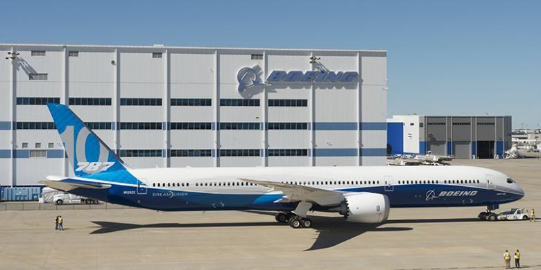 Boeing B787-10.
