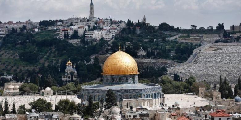 Masjid Al-Aqsa di Jerusalem.