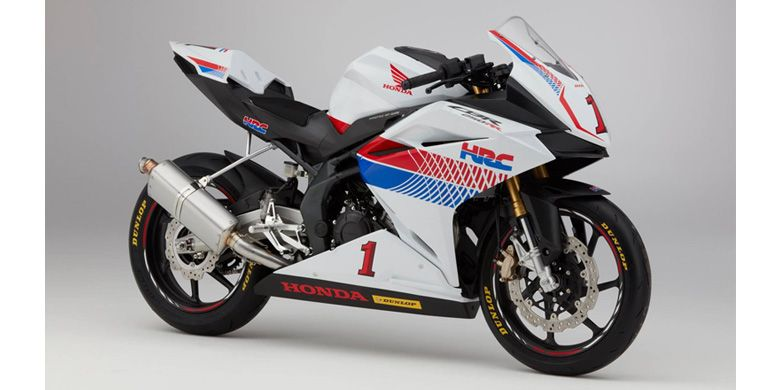 Honda CBR250RR Race Base Version kreasi dari HRC.