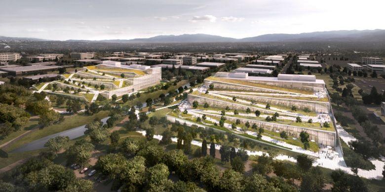 Rancangna gedung terbaru Google