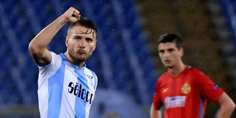 Betah di Italia, Striker Lazio Tepis Rumor Transfer ke Tottenham