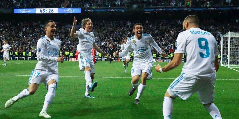 Karim Benzema Bahagia Cetak Gol dalam Laga Penting Real Madrid