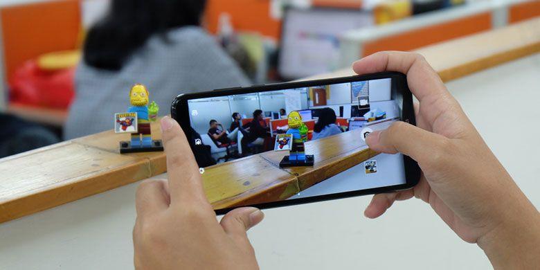 Menjajal kamera ganda Huawei Nova 2 Lite dengan tampilan layar penuh.