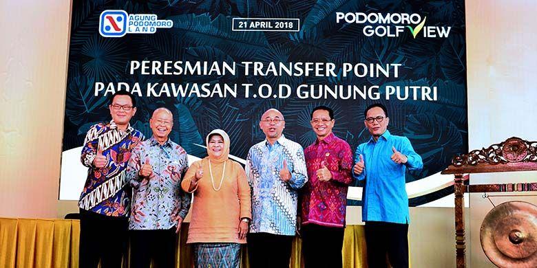 Keterangan foto : Peresmian TOD 21 April 2018