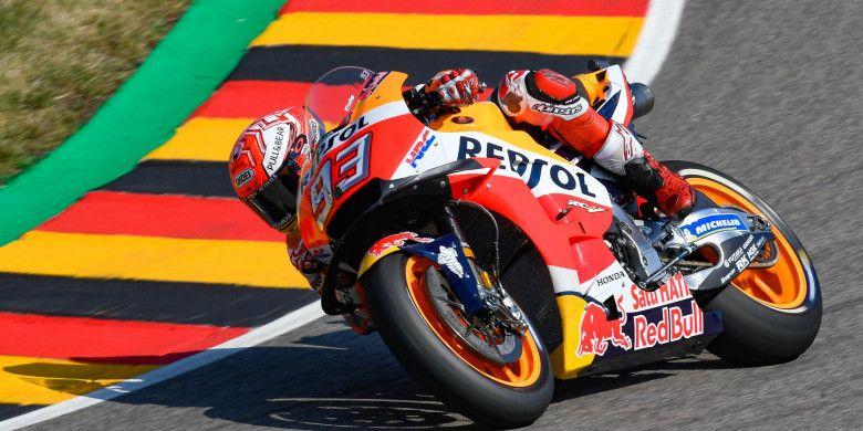 Hasil Kualifikasi GP Jerman, Marquez Raih Pole Position