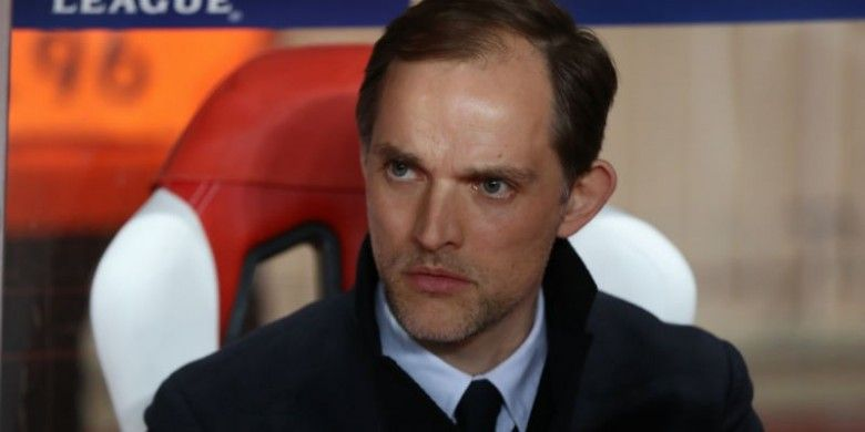 Pelatih Paris Saint-Germain, Thomas Tuchel.