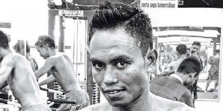 Petinju Indonesia yang dipersiapkan untuk Asian Games 2018, Valentinus Nahak, saat masih sehat.