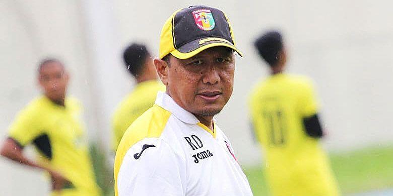 Pelatih Mitra Kukar, Rahmad Darmawan.