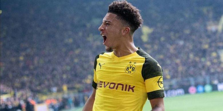 Striker Borussia Dortmund, Jadon Sancho.