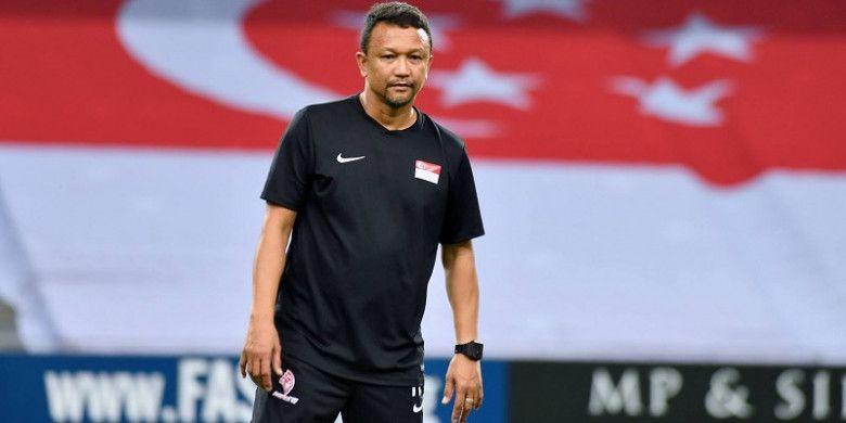 Fandi Ahmad, pelatih sementara Timnas Singapura.