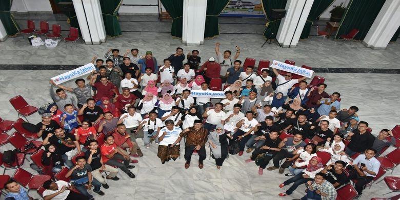 Bareng Festival Gedung Sate, Ridwan Kamil Kukuhkan GenPI Jabar