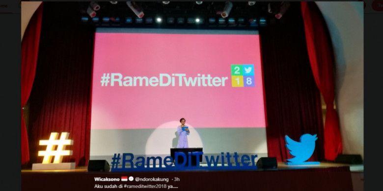 Acara #RamediTwitter 2018.