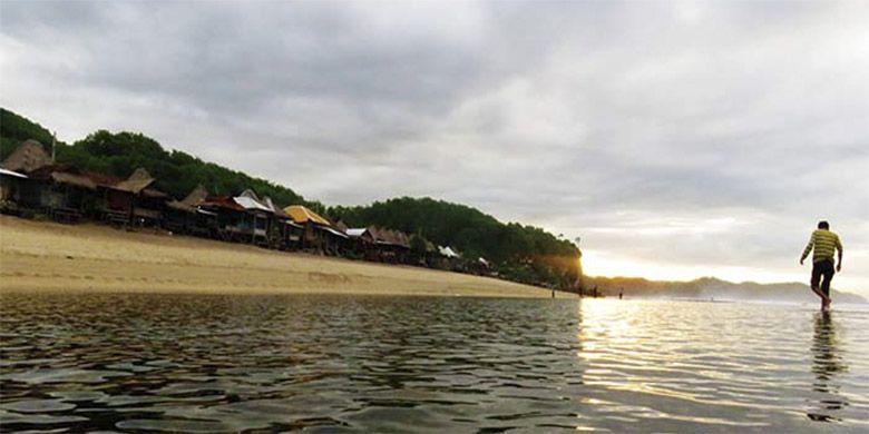 Pagi di Pantai Sepanjang, Gunungkidul