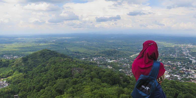 Puncak Gunung Gandul, Wonogiri