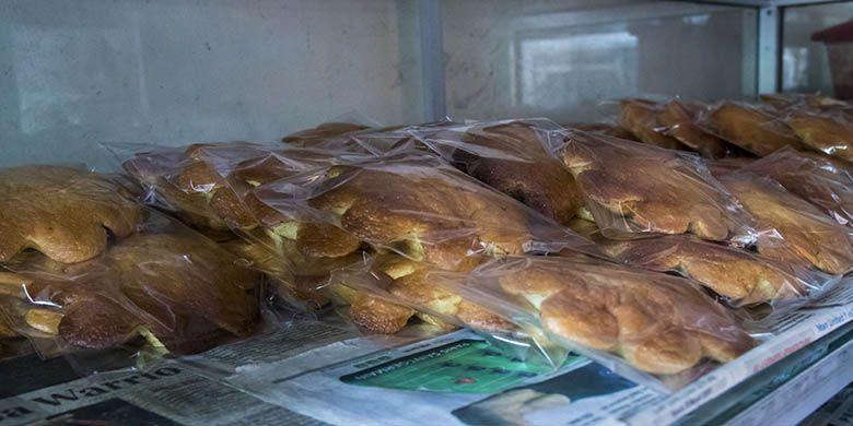 Roti Kembang Waru khas Kotagede, Yogyakarta