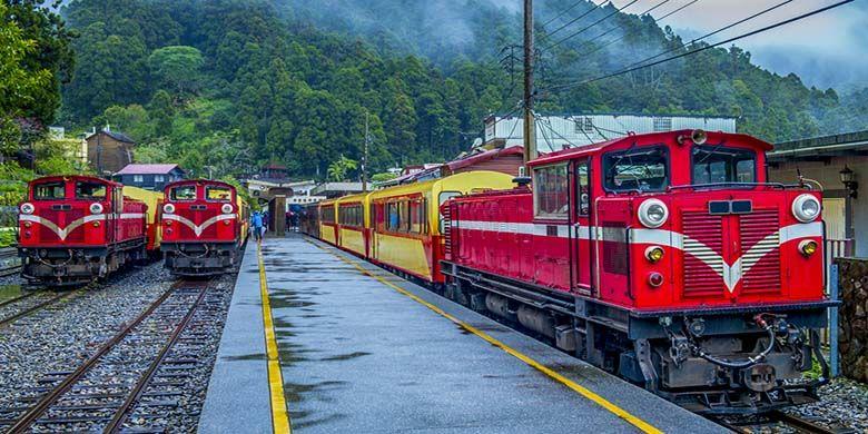 Alishan Forest Railway, jalur kereta api tertinggi dan bersejarah di Taiwan