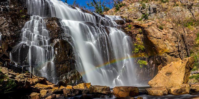Air Terjun MacKenzie di Taman Nasional Grampians, Australia