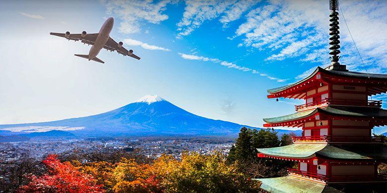 Terbang ke Jepang