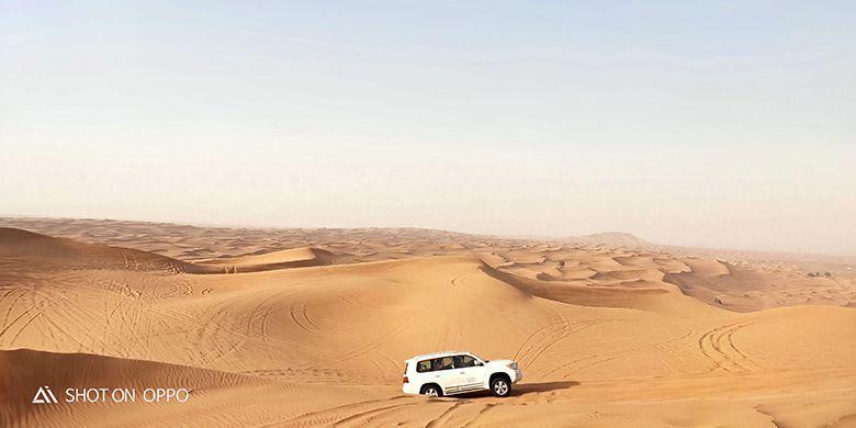 Dubai Safari Dessert diambil menggunakan OPPO R17 Pro