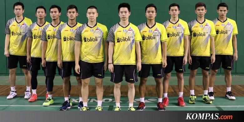 Jadwal Semifinal Piala Thomas, Indonesia Vs China - Kompas.com