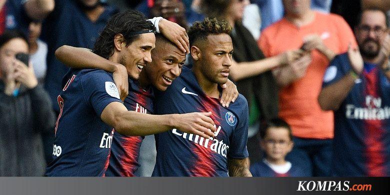 Jawaban Aman Mbappe soal Hubungan Neymar-Cavani - KOMPAS.com