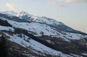 Berita Foto: Belajar Ski di Pegunungan Alpen Perancis