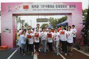 Ragam Warna Pada AG Fun Run di Hangzhou