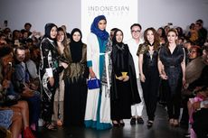 Hijab dan Abaya Desainer Indonesia Berjaya di New York Fashion Week