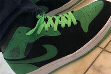 Sneaker Air Jordan 1-Xbox dengan