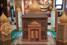 Kampanye Diet Plastik, Hotel ini Pajang Miniatur Masjid dari 4.200  Sedotan Bambu