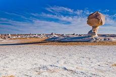 Mesir Punya Gurun Putih yang Ajaib