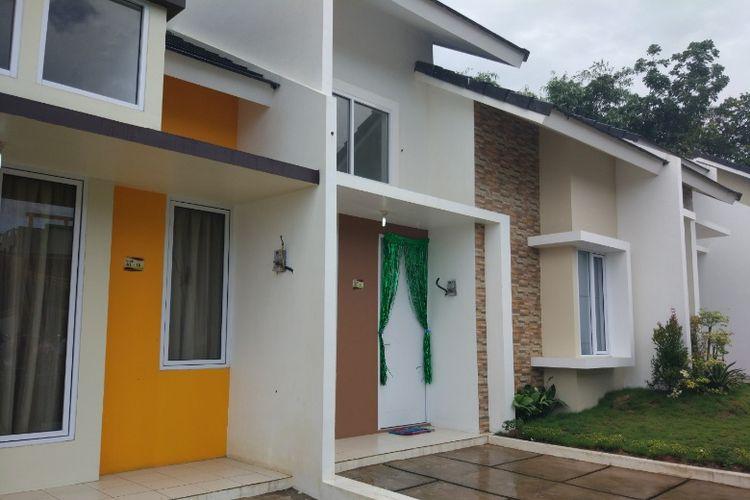 Rumah contoh Perumahan Serpong Garden Village