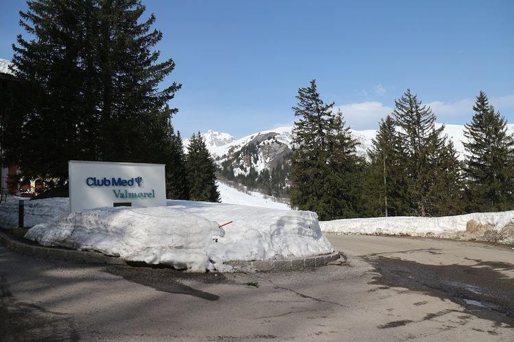 Resor inklusif Club Med Valmorel di Les Avanchers, Valmorel, Perancis, Minggu (8/4/2018). Resor ski di ketinggian sekitar 1.460 meter di atas permukaan laut (mdpl) ini menawarkan pengalaman bermain ski di Pegunungan Alpen dan segala aktivitas lainnya.