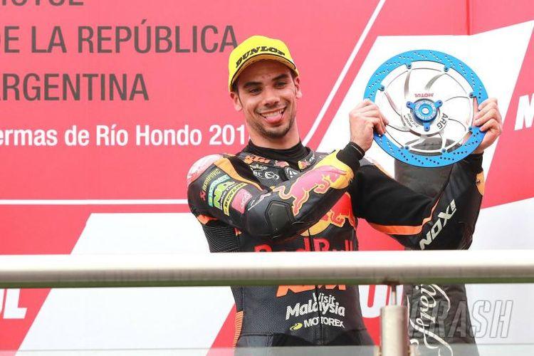 Miguel Oliveria yang akan bergabung di Tech 3 KTM musim depan.