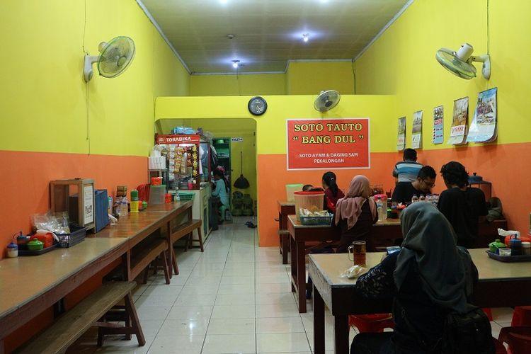 Warung Soto Tauto Bang Dul cabang Jalan Gajah Mada, Kota Pekalongan.