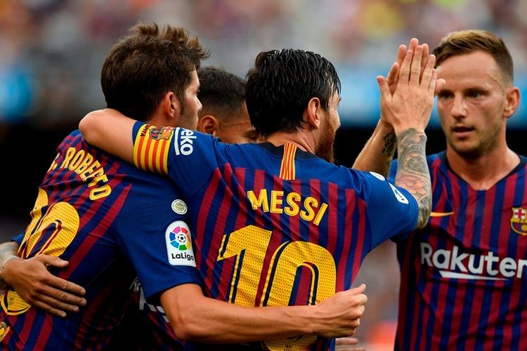 Hasil Liga Spanyol, Barcelona Pesta 8 Gol di Camp Nou