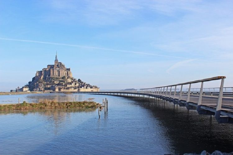 The Jetty to Mont-Saint-Michel