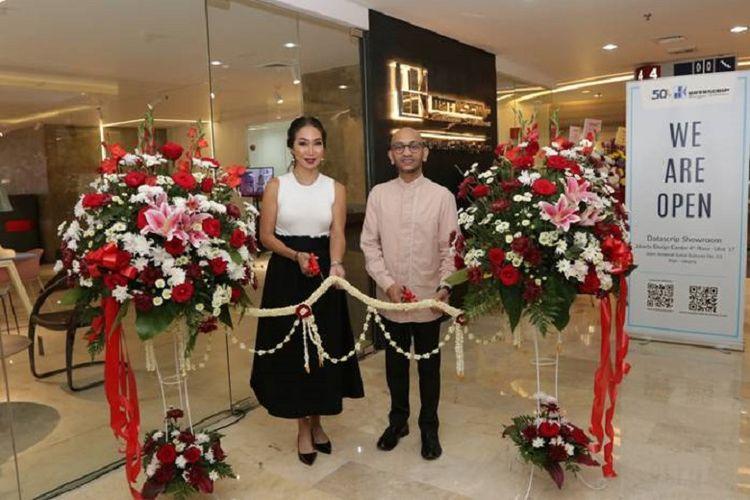Pembukaan Office Furniture Showroom Datascrip di Jakarta Design Centre, Kamis (7/2)