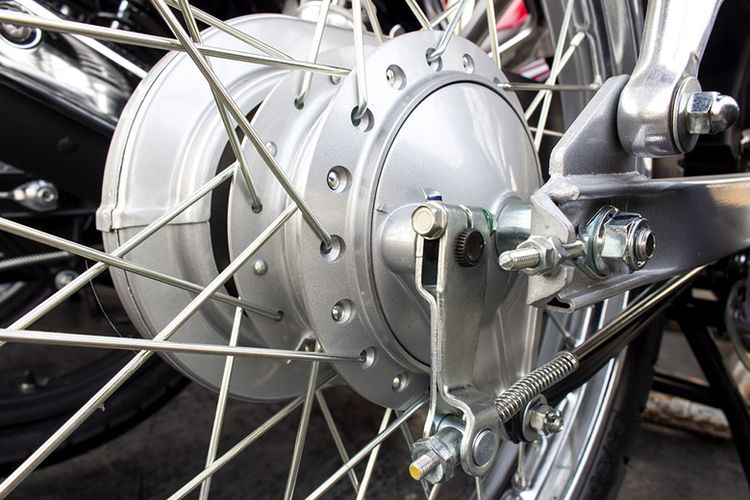 Rem sepeda motor.