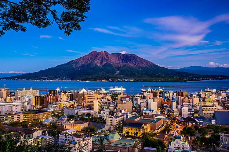Panorama di Kagoshima