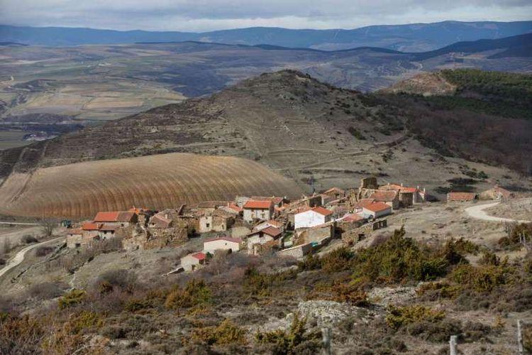 Sarnago, salah satu desa yang mengalami depopulasi di Spanyol