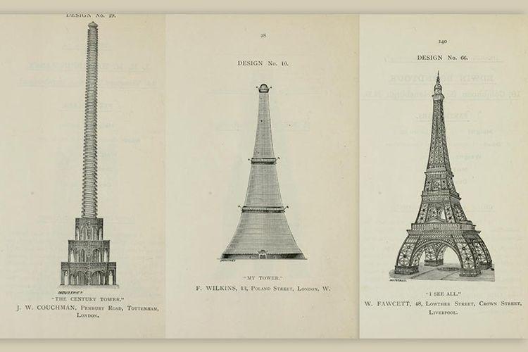 Beberapa proposal untuk pembangunan kembaran menara Eiffel di London
