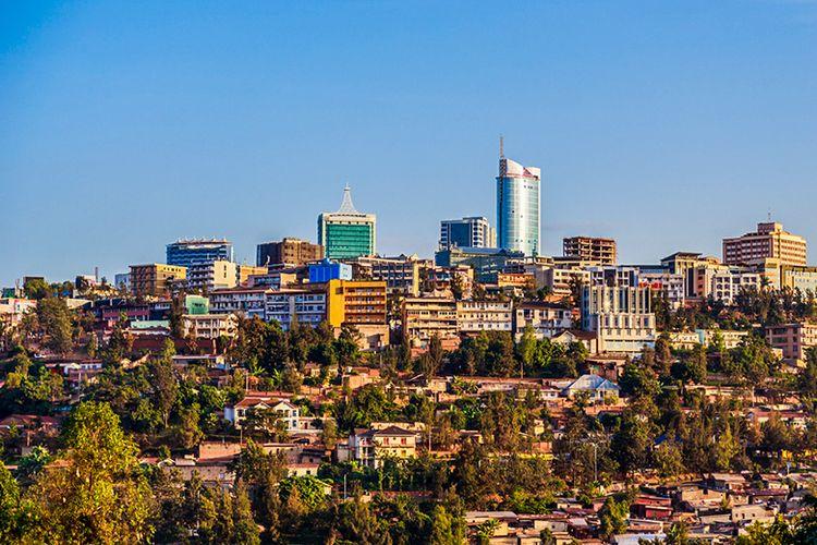 ibukota Rwanda, Kigali.