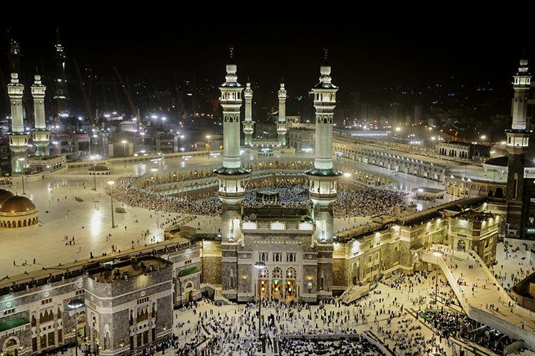Masjidil Haram di Mekkah.