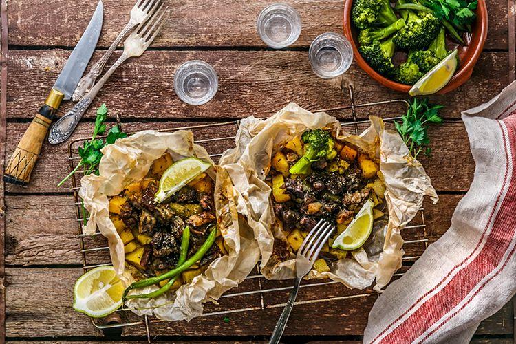 Kuliner klefitko khas Negara Yunani.