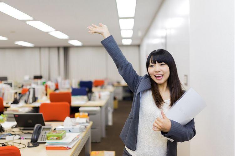 Ilustrasi pekerjaan di Jepang.