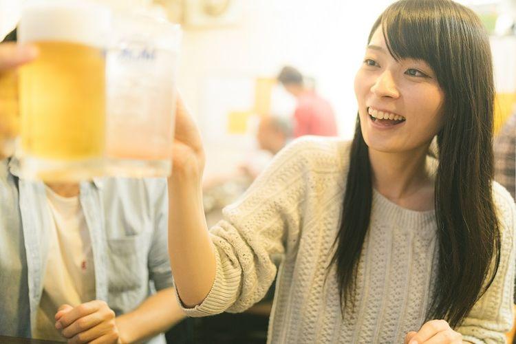 Tradisi minum di Jepang.