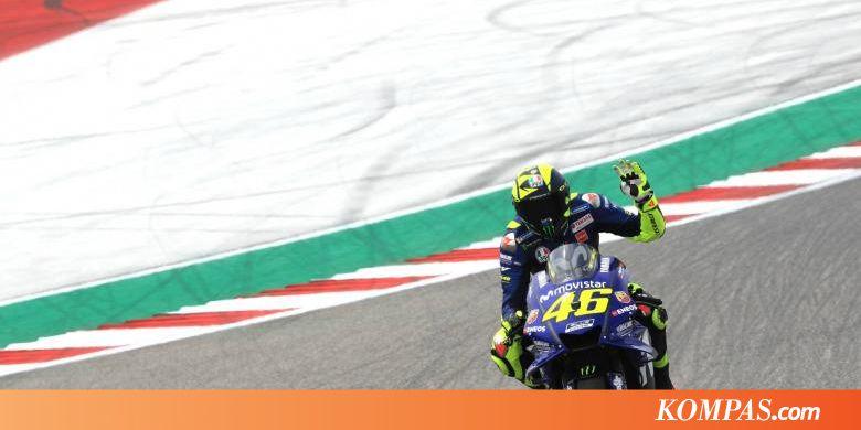 """Start Baris Kedua, Rossi Sudah Mulai """"Pede"""" dengan M1"""