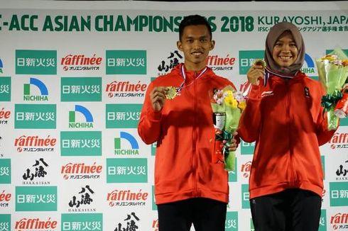Dua Atlet Panjat Tebing Juara di Jepang