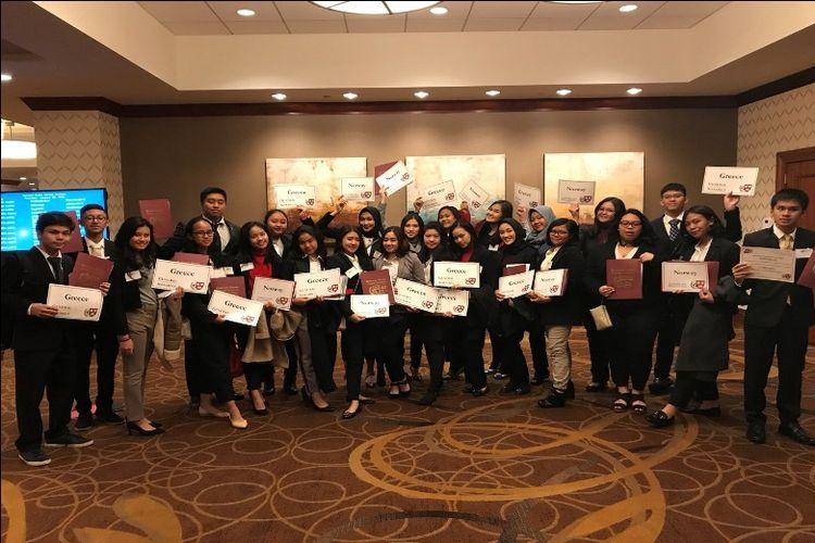 MA Labschool Jakarta menjadi satu-satunya sekolah yang mewakili Indonesia dan kawasan Asia Tenggara dalam ajang HMUN 2018 kali ini